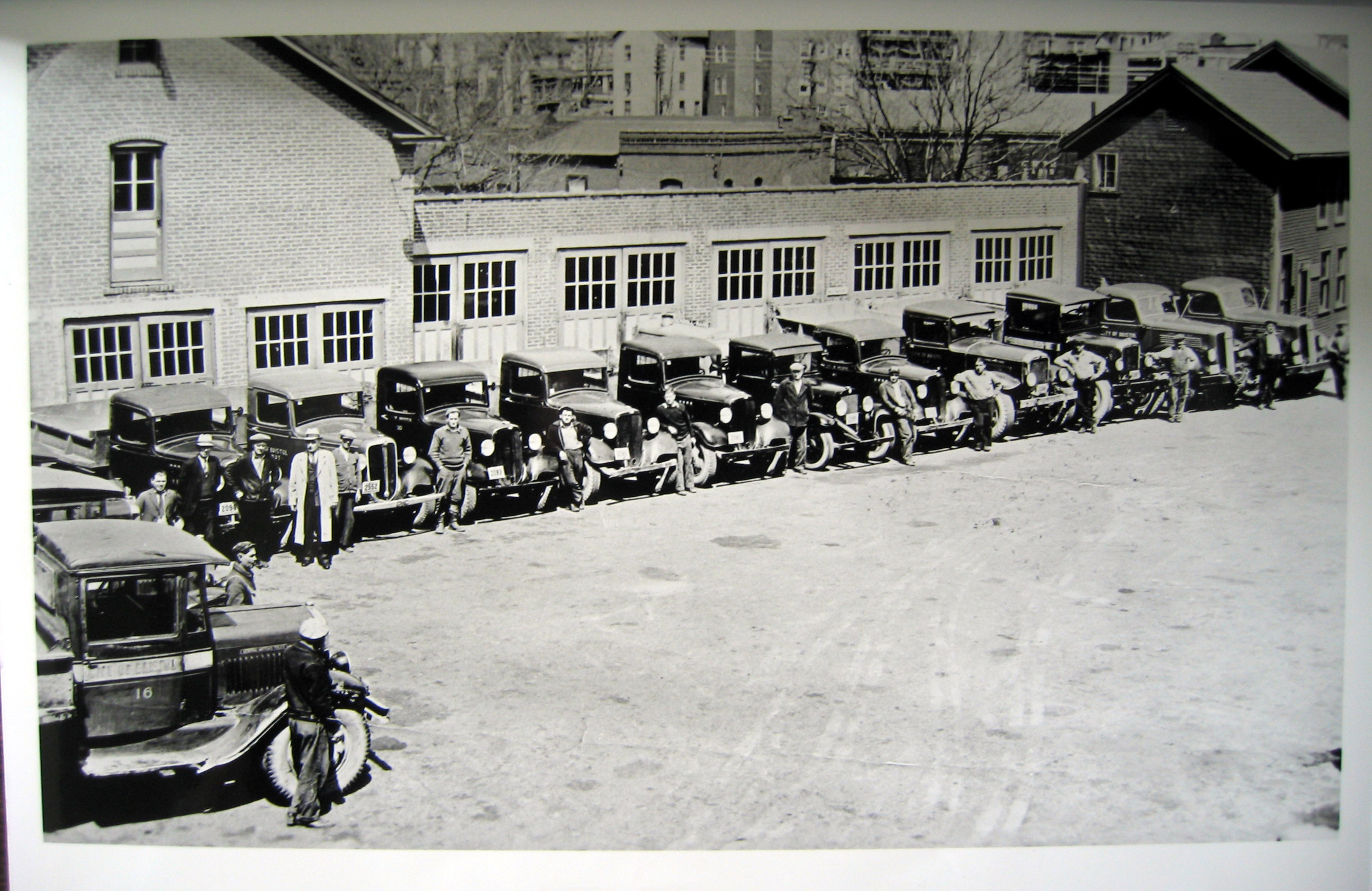 Bristol PW Garage on Highland Ct c1930s